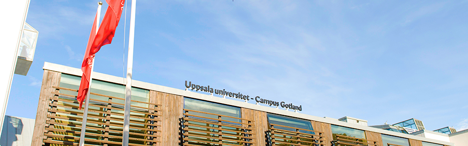 University departments at Campus Gotland