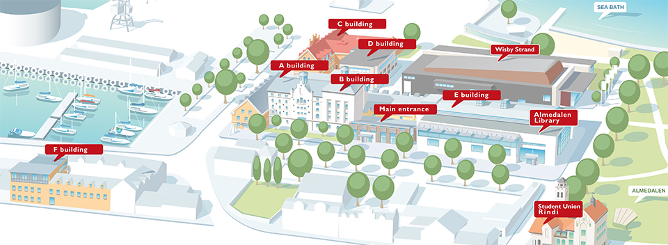 Map - Campus Gotland (picture)